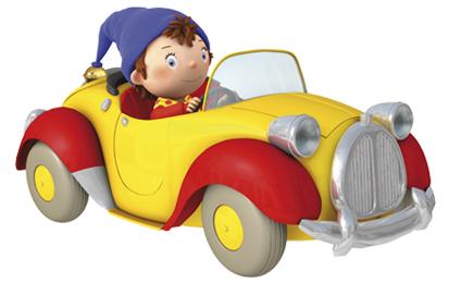 sticker-oui-oui-et-sa-voiture-jaune-taxi